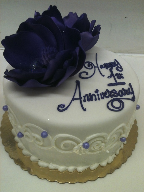 Celebrate Another Year Of Marriage With One Our Elegant Cakes