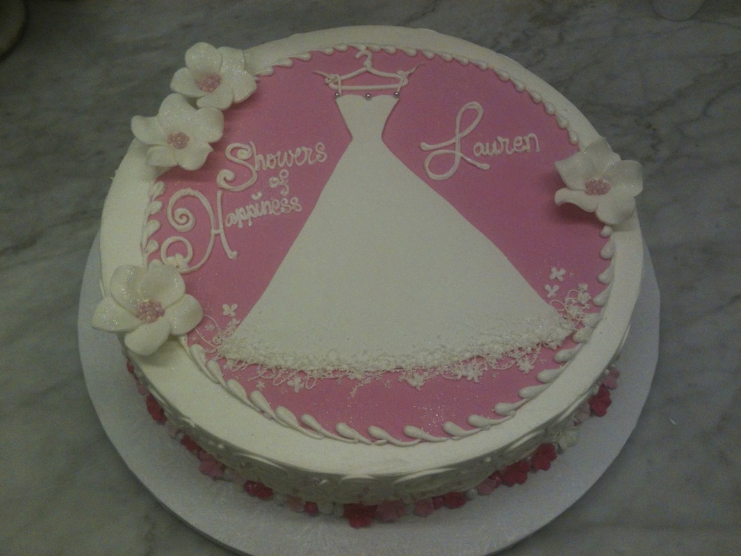 bridal shower cakes